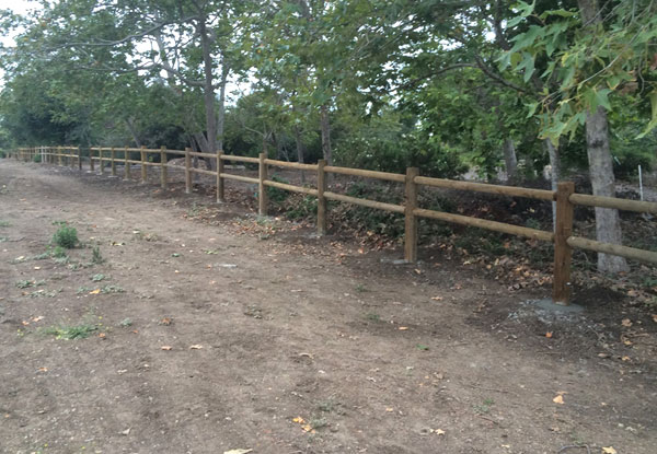 Santa Ana Ca Wood Fence Installation Orange Coast Fence