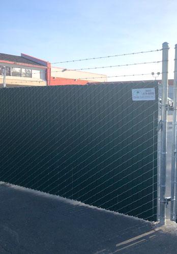 Santa Ana Ca Chain Link Fence Installation Orange Coast