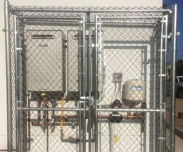 Secure, Durable Chain Link Fence/Gate